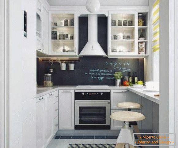 дизайн малогабаритної кухні від 6 до 10 кв м фото